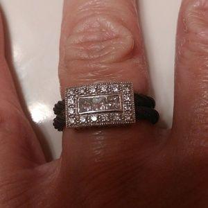 AUTHENTIC PHILLIP CHARRIOL DIAMOND RING